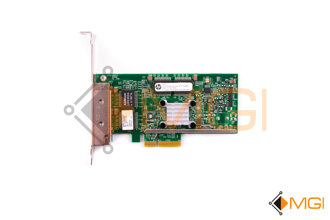 649871-001 HP ETHERNET 1GB 4-PORT 331T ADAPTER TOP VIEW