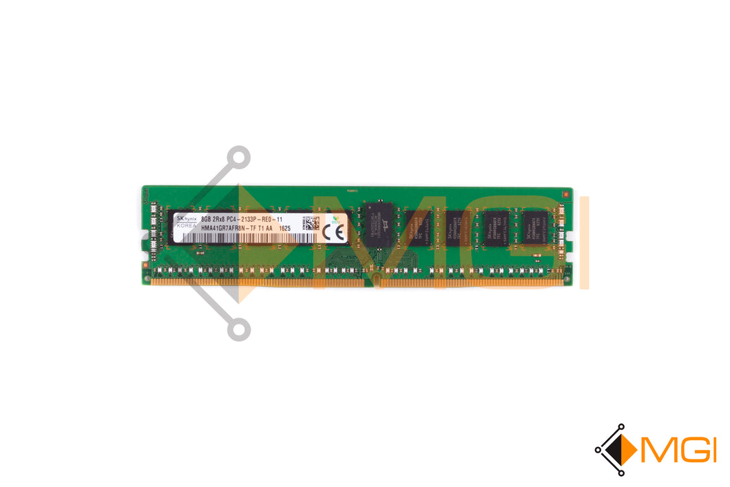 HMA41GR7AFR8N-TF HYNIX 8GB PC4 2RX8 17000P 2133 MEMORY DIMM DDR4 FRONT VIEW