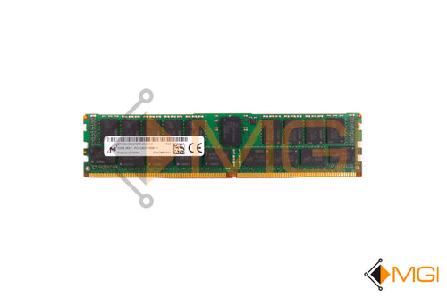 MTA36ASF4G72PZ-2G3 MICRON 32GB PC4-2400T-R DDR4 REG ECC 2RX4 MEMORY RDIMM FRONT VIEW