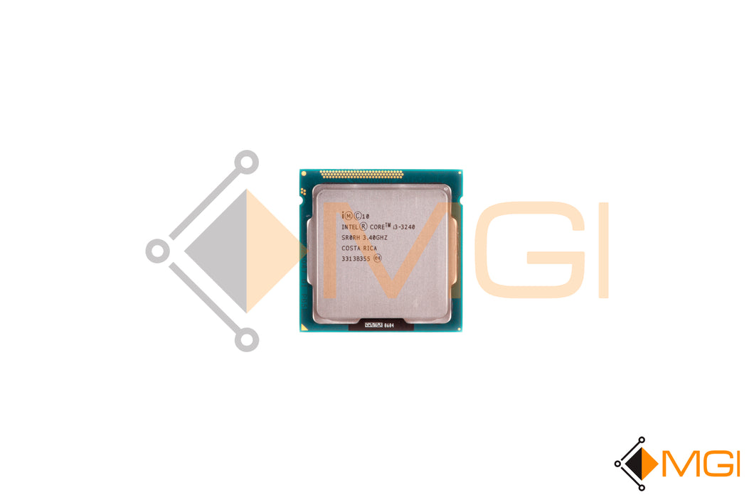 I3-3240 SR0RH INTEL DUAL CORE 3.4GHZ 3M L3 CACHE 5GT/S LGA1155 FRONT VIEW