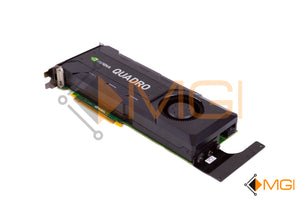R93GX DELL NVIDIA QUADRO K5200 VIDEO GRAPHICS CARD 8GB REAR VIEW