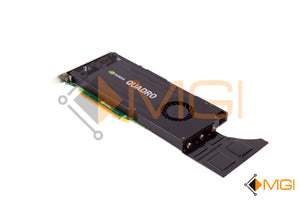 J4F85 DELL NVIDIA QUADRO K4200 4GB DDR5 HIGH PROFILE VIDEO GRAPHICS CARD REAR VIEW