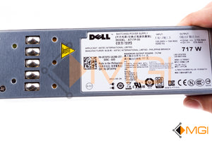 FJVYV DELL POWEREDGE R610 717W POWER SUPPLY DETAIL VIEW