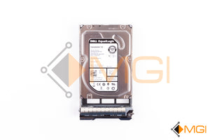 "M63P8 DELL EQUALLOGIC 500GB 7.2K NL SAS 3.5"" 6GBPS HARD DRIVE FRONT VIEW"