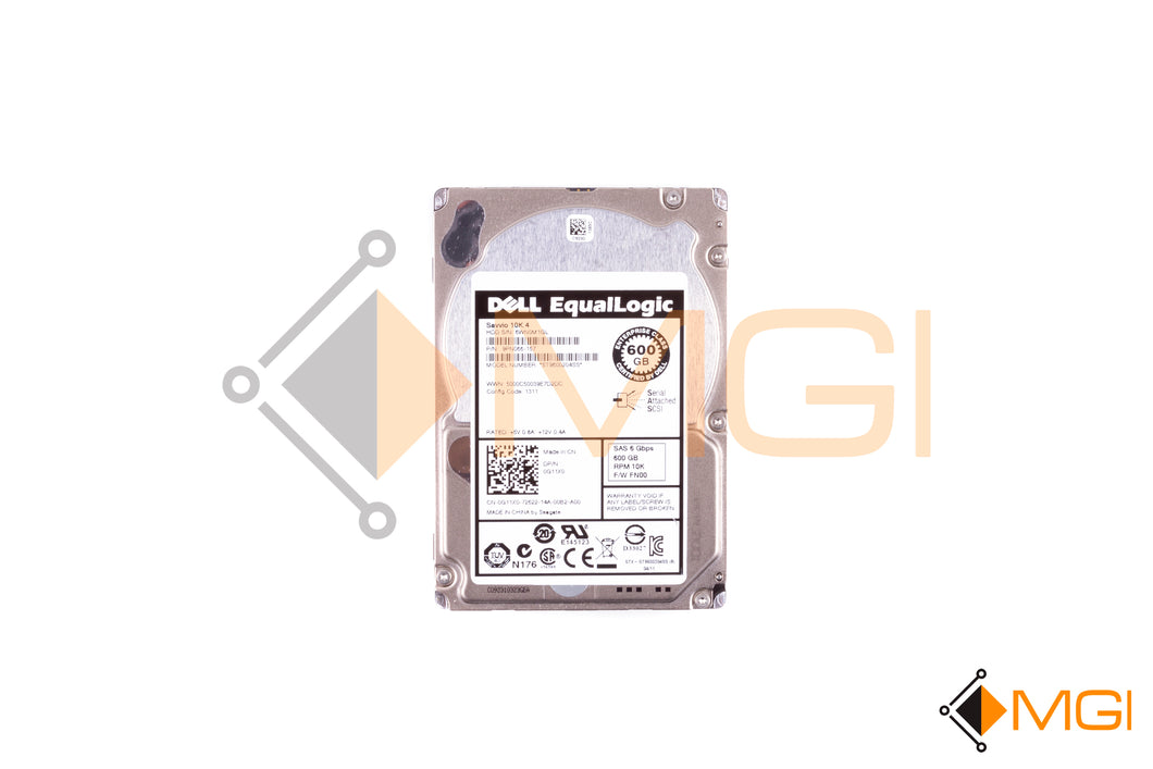 G11X0 DELL EQUALLOGIC 600GB 10K SAS 6G 2.5 HDD FRONT IMAGE