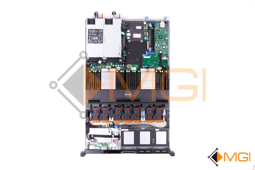 DELL POWEREDGE R620 TOP VIEW