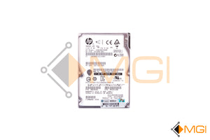 597609-001 HPE 300GB 10K 6G SFF SAS HARD DRIVE FRONT VIEW