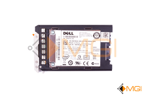 N7RGD DELL INTEL 800GB SATA 6GBPS 1.8 SSD HD FRONT VIEW