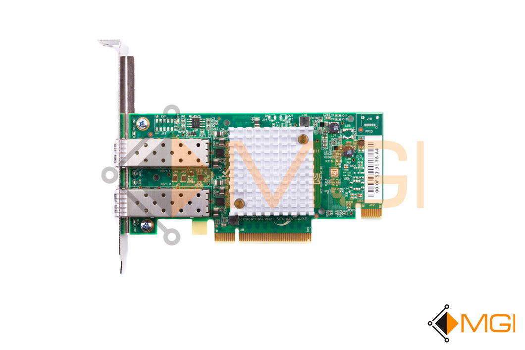SF329-9021-R7 SOLARFLARE DUAL PORT 10GBE ENTERPRISE SERVER ADAPTER TOP VIEW