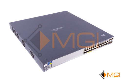 J8164A HP PROCURVE SWITCH 2626-PWR 24 PORT SWITCH FRONT VIEW