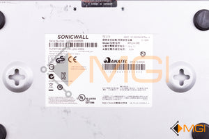 101-500354-56 SONICWALL TZ 215 FIREWALL - APL24-08E W/ POWER SUPPLY DETAIL VIEW