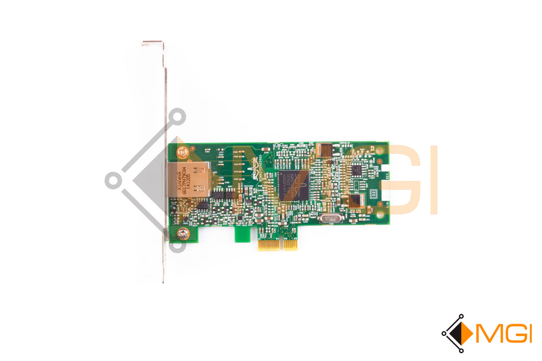 9RJTC DELL BROADCOM 5722 1GBE PCI-E SINGLE PORT NETWORK CARD TOP VIEW