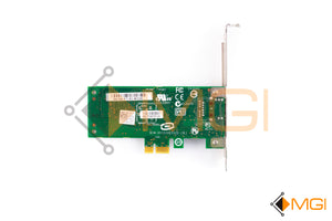 9RJTC DELL BROADCOM 5722 1GBE PCI-E SINGLE PORT NETWORK CARD REAR VIEW