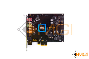 0DR8F DELL SOUND BLASTER RECON 3D THX PCI-E SOUND CARD SB1350 TOP VIEW