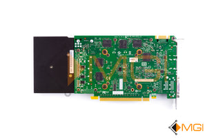 VCQK4000-T NVIDIA QUADRO K4000 3GB GDDR5 PCI-E VIDEO GRAPHICS CARD BOTTOM VIEW