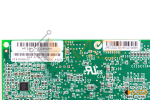 697890-001 HP STORAGEWORKS 82E 8Gb DUAL-PORT PCI-E FC HBA EMULEX DETAIL VIEW