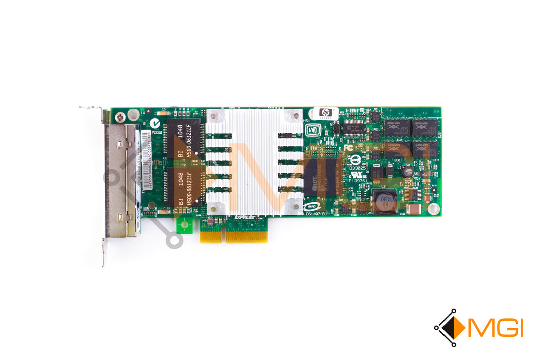 436431-001 HP NC364T PCI-E 4-PORT GIGABIT SERVER ADAPTER TOP VIEW