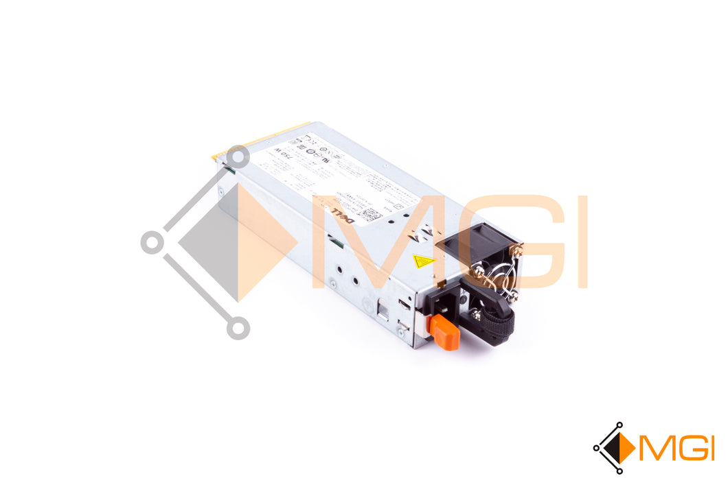 4T22V DELL POWER SUPPLY 750W FOR DELL POWEREDGE R510 FRONT VIEW