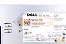 Load image into Gallery viewer, 4T22V DELL POWER SUPPLY 750W FOR DELL POWEREDGE R510 DETAIL VIEW