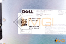 Load image into Gallery viewer, H411J DELL POWEREDGE R410 / R510 POWER SUPPLY 480W DETAIL VIEW