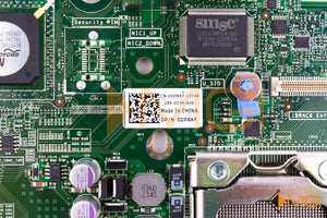 DPRKF DELL POWEREDGE R510 SERVER SYSTEM BOARD DETAIL VIEW