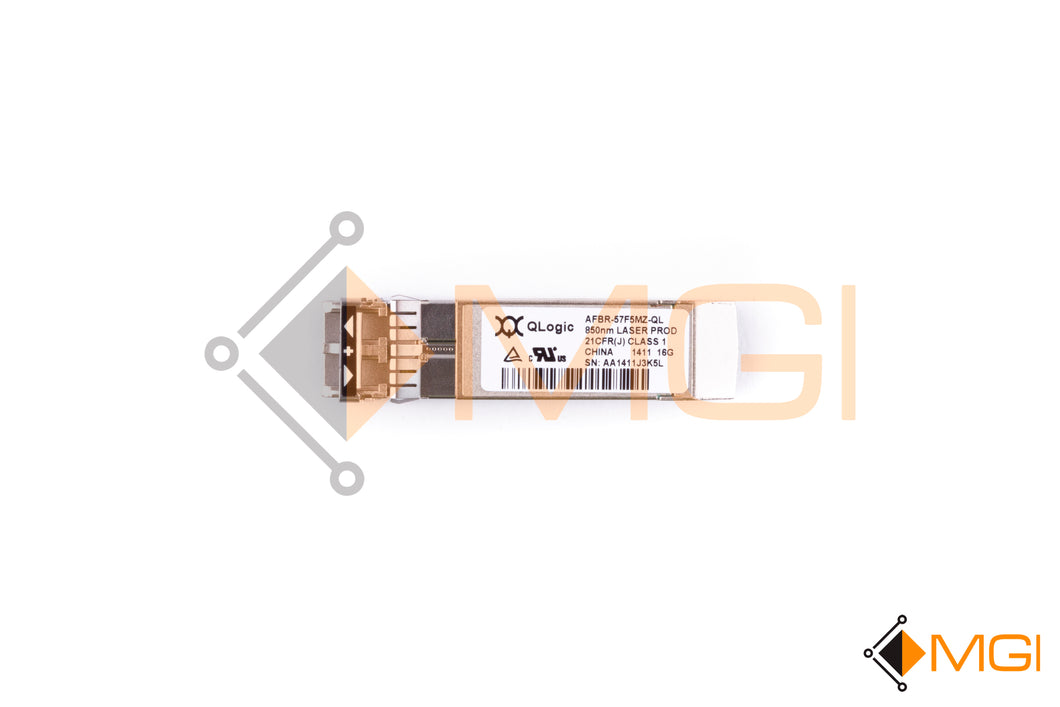 AFBR-57F5MZ-QL QLOGIC 16GB/S 850NM FIBER CHANNEL FC SFP+OPTICAL TRANSCEIVER TOP VIEW