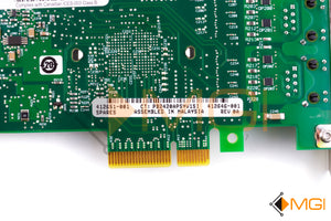 412651-001 HP PCI-E GIGABIT DUAL PORT SERVER ADAPTER NETWORK CARD DETAIL VIEW