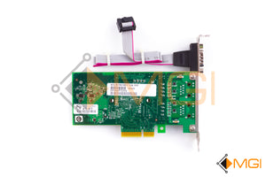 EXPL9402PTG2P20 INTEL PRO/1000 ADAPTER CARD W/ VGA PORT AND CABLE REAR VIEW