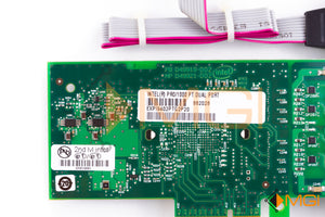 EXPL9402PTG2P20 INTEL PRO/1000 ADAPTER CARD W/ VGA PORT AND CABLE DETAIL VIEW