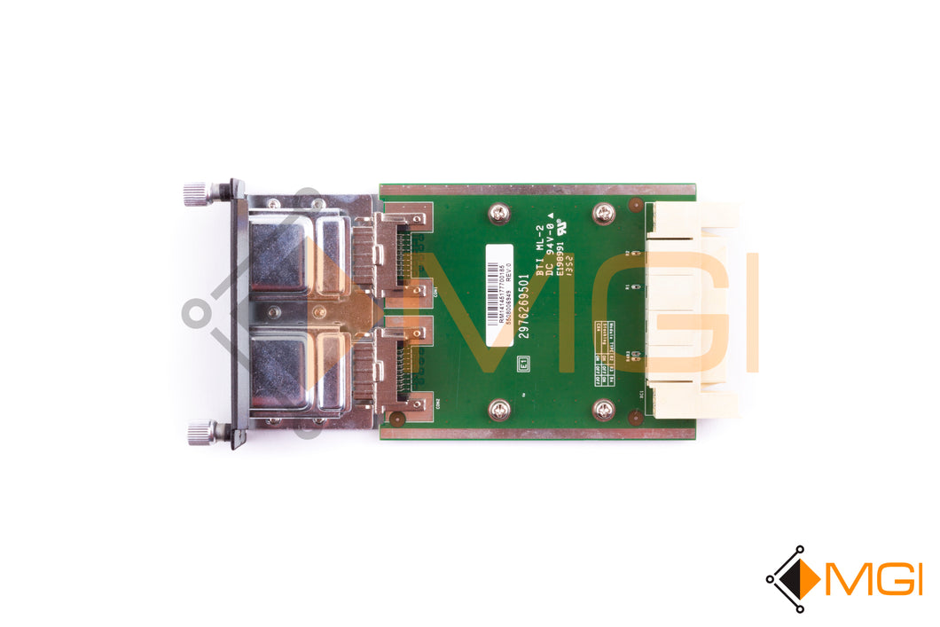 YY741 DELL POWERCONNECT 10GB DUAL PORT STACKING MODULE TOP VIEW
