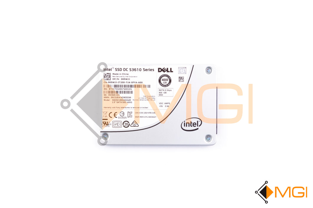 65WJJ DELL/INTEL 400GB 2.5