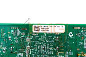 RW9KF DELL SANBLADE 8GB DUAL PORT PCI-E FIBRE CHANNEL HOST BUS ADAPTER DETAIL VIEW