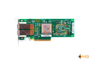 RW9KF DELL SANBLADE 8GB DUAL PORT PCI-E FIBRE CHANNEL HOST BUS ADAPTER TOP VIEW
