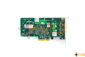 YGCV4 DELL BROADCOM BCM5719 1GBE PCI-E X4 QUAD PORT ETHERNET ADAPTER BOTTOM VIEW