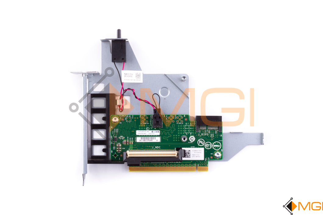 8PX9W DELL RISER BOARD FOR POWEREDGE R920 R930 WITH NDC NIC CONNECTOR TOP VIEW