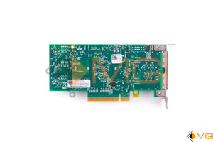 1T7NW DELL DUAL-PORT 40Gb QSFP PCIe MELLANOX CX354A LOW PROFILE BACK VIEW