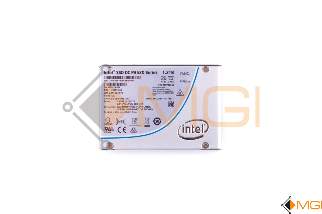 SSDPE2MX012T7 INTEL SSD DC P3520 SERIES 1.2TB 2.5