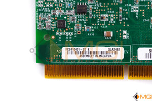 FC2410401-20 QLOGIC DUAL-PORT 4GBPS PCI-X ADAPTER DETAIL VIEW