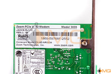 Load image into Gallery viewer, 59768F ZOOM PCIC V 92 MODEM MODEL 3035 DETAIL VIEW