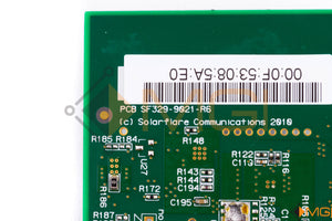 SF329-9021-R6 SOLARFLARE SFN5162F DUAL PORT 10GbE SFP+ SERVER ADAPTER DETAIL VIEW