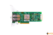 Load image into Gallery viewer, 42D0512 IBM/QLOGIC SANBLADE 8GB DUAL PORT FC PCI-E HBA TOP VIEW