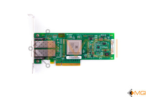 42D0512 IBM/QLOGIC SANBLADE 8GB DUAL PORT FC PCI-E HBA TOP VIEW
