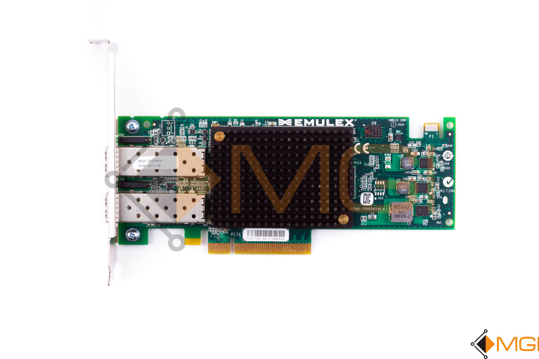 OCE11102 IBM / EMULEX 10GBE VIRTUAL FABRIC ADAPTER CARD TOP VIEW