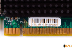 OCE11102 IBM / EMULEX 10GBE VIRTUAL FABRIC ADAPTER CARD DETAIL VIEW