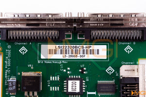 A6961-60111 HP ULTRA320 SCSI HOST BUS ADAPTER DETAIL VIEW