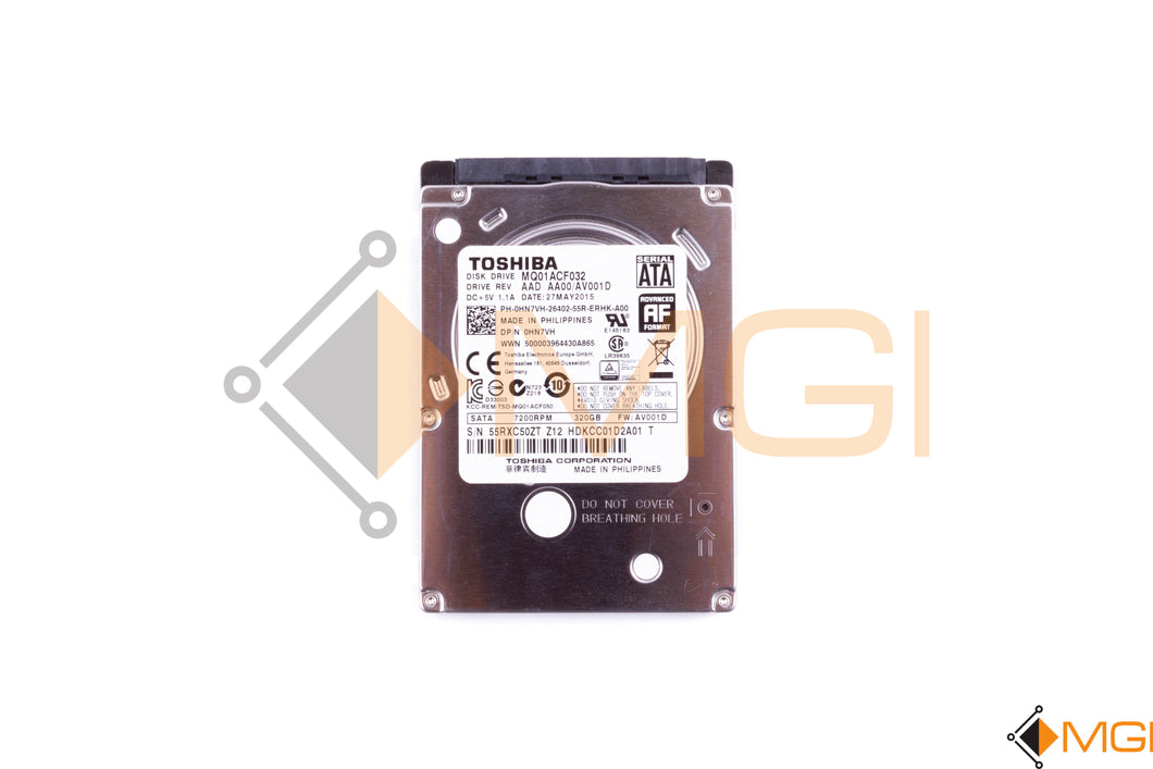 HN7VH DELL 320GB 6G 72K SATA 600 7MM 2.5