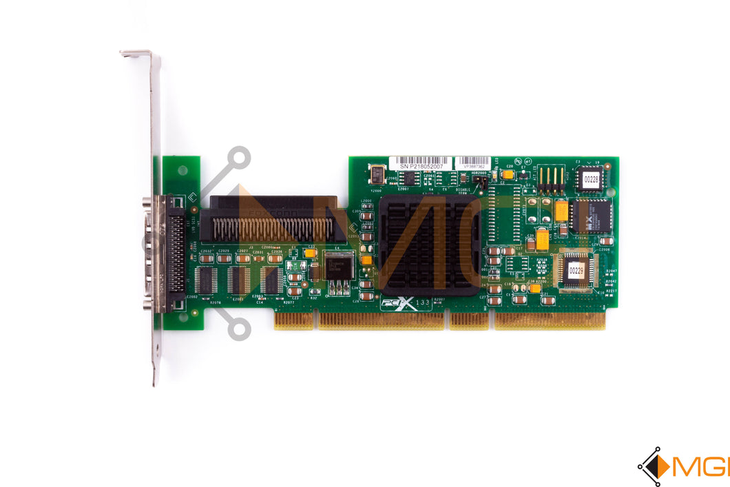 403051-001 HP SINGLE CHANNEL ULTRA320 SCSI PCI-X HBA TOP VIEW