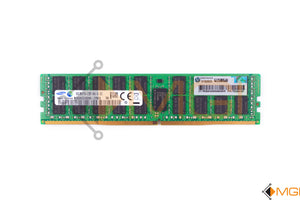 752369-081 HP 16GB 2RX4 PC4-2133P-R MEMORY MODULE (1X16GB) FRONT VIEW