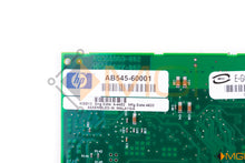 Load image into Gallery viewer, AB545-60001 HP PCI-X 4-PORT 1000 BASE-T NIC DETAIL VIEW