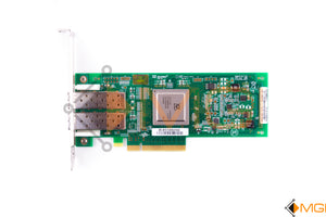 MFP5T DELL 8GB DUAL PORT HBA PCI-E QLE2562 FH TOP VIEW